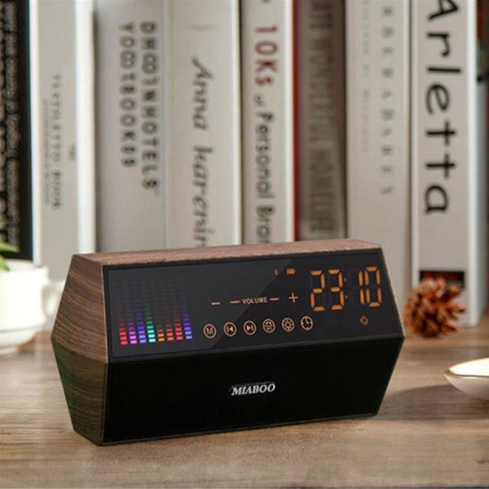 Miaboo Double Haut-parleur Bluetooth Sans Fil Radio Fm Soutien Aux Tf_ma11521