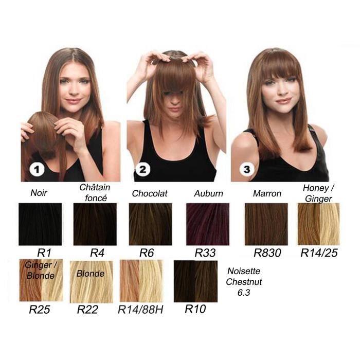 frange clip hairdo noire achat vente perruque postiche frange clip hairdo noire. Black Bedroom Furniture Sets. Home Design Ideas
