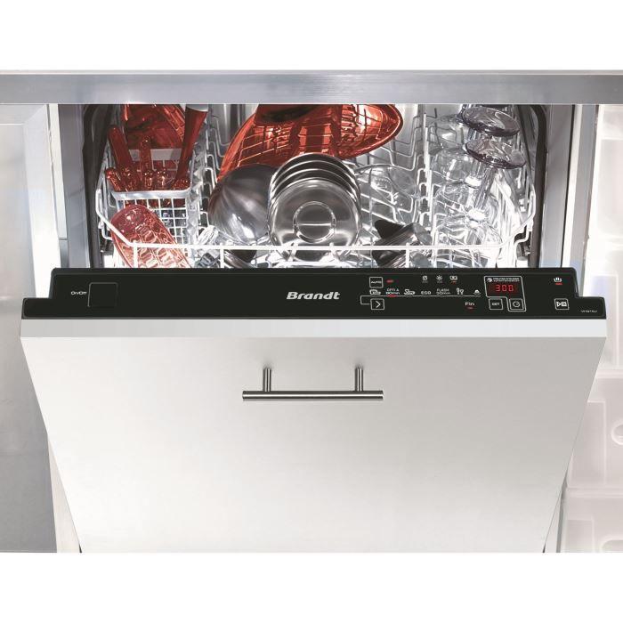 Brandt Vhj Encastrable With Lave Vaisselle Encastrable Largeur 45 Cm