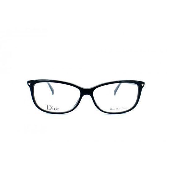 7ff67bece3ba0 Lunettes de vue pour femme DIOR Noir CD 3271 807 55/13 - Achat / Vente  lunettes de vue Lunettes de vue pour femme … Femme Adulte - Soldes d'été  Cdiscoun