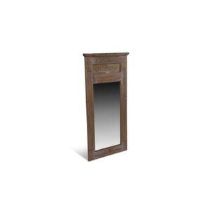 Miroir ancien achat vente miroir ancien pas cher for Grand miroir rectangulaire bois