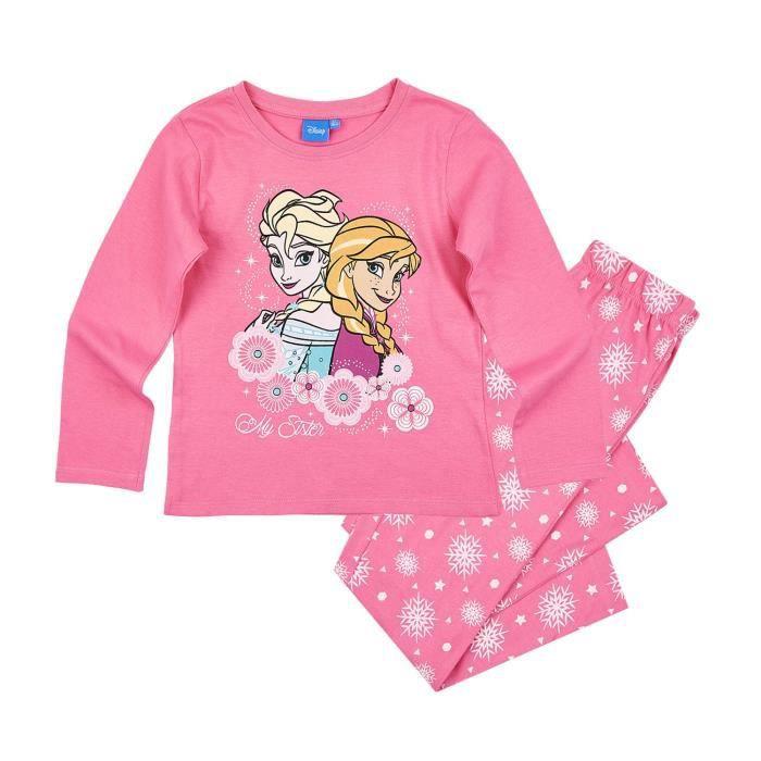 LA REINE DES NEIGES Pyjama 161425 B - Enfant Fille - Blanc