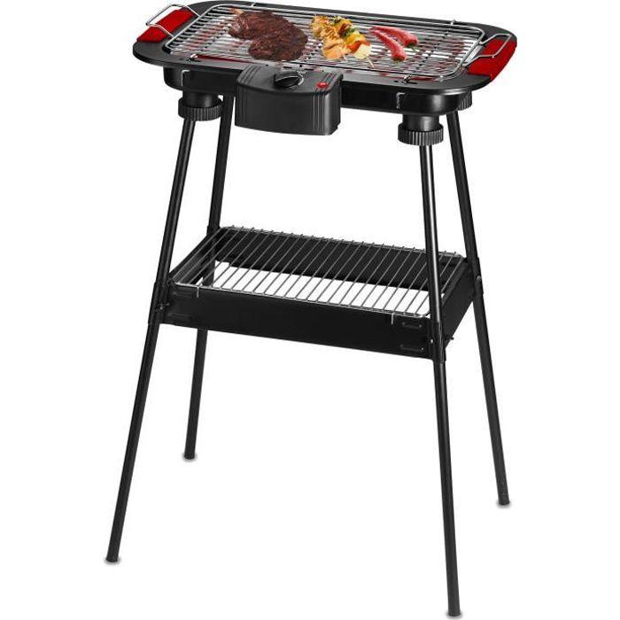 BARBECUE DE TABLE TECHWOOD TBQ-825P Barbecue électrique sur pieds -