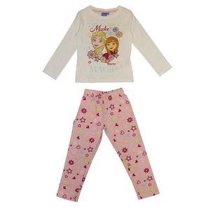 PYJAMA LA REINE DES NEIGES Pyjama Imprimé 161425 R - Enfa