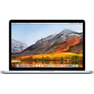 ORDINATEUR PORTABLE APPLE Macbook Pro ME665F/A - 15,4 pouces Retina -