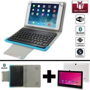 TABLETTE TACTILE Mega PACK- Tablette blanche numérique Wifi 7 pouce