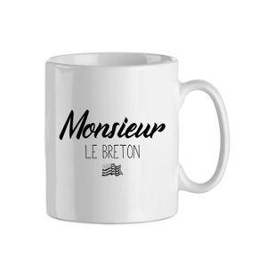 Set 2 mugs jar Monsieur et Madame