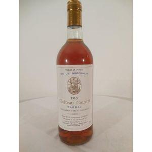 VIN BLANC sauternes château coustet liquoreux 1983 - bordeau