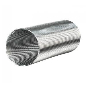 CÂBLE - FIL - GAINE Gaine aluminium semi-rigide - 250mm x 3 mètres
