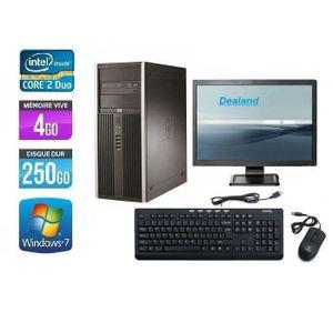 UNITÉ CENTRALE + ÉCRAN HP Elite 8000 C2D  3 GHz 4 Go 250 Go DVD-RW Window