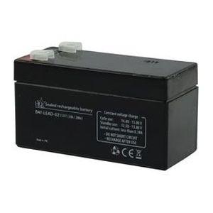 BATTERIE VÉHICULE Batterie au Plomb 12V 1,3Ah HQ
