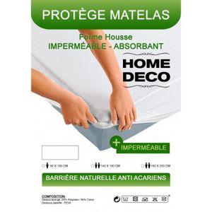 MATELAS Protège-matelas imperméables, absorbant et anti-ac