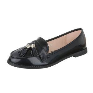 MOCASSIN femme chaussure basse chaussure mocassin  rétro es