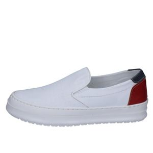 MOCASSIN Mocassin Homme FDF SHOES Cuir Blanc