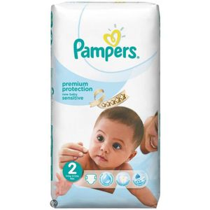 COUCHE Pack 60 Couches Pampers New Baby Sensitive de tail