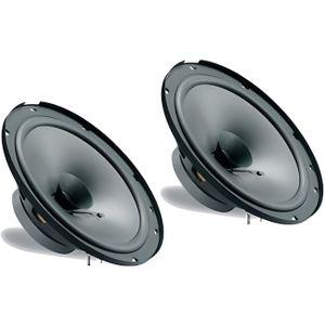 HAUT PARLEUR VOITURE Couple doubles haut-parleurs à cône Phonocar 16,5