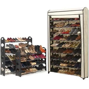 Grand Meuble Chaussure 100 Paires.Meuble Chaussure 100 Paires