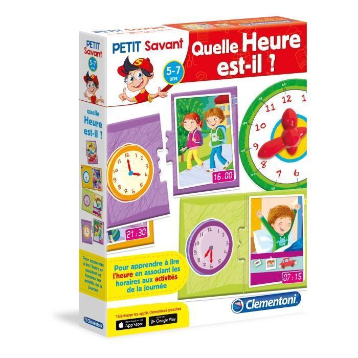 jeu pour apprendre l heure achat vente jeux et jouets pas chers. Black Bedroom Furniture Sets. Home Design Ideas