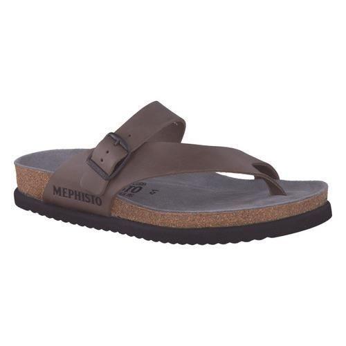5cc299c95bad90 Tongs/sandales homme MEPHISTO en cuir marron - Achat / Vente tong ...