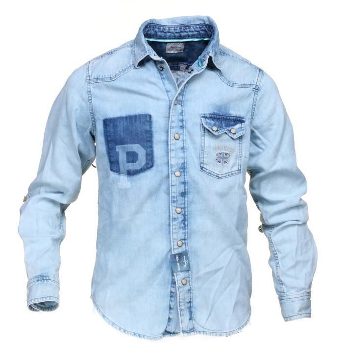 0d21a46ce0e Chemise pepe jeans enfant - Achat   Vente pas cher