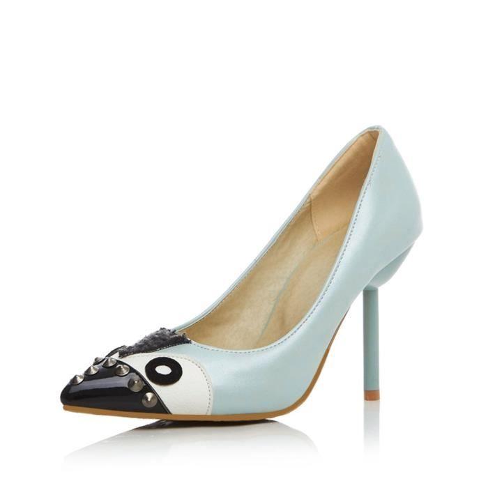 Chaussure Femmes Nouveau ModeMignons Creative Précédés Avec Des Yeux Comme Rivet