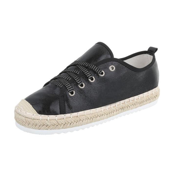 Chaussures femme chaussures sportSneakersnoir 41 WZVe6