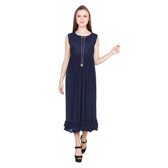 Womens Navyblue Party Dress XXC6Y Taille-38