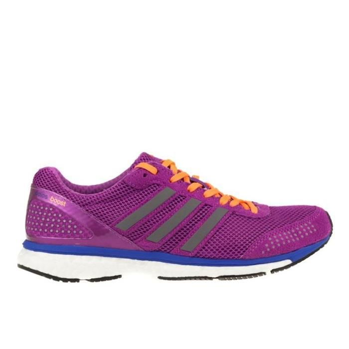outlet store 4fcfe c16dd CHAUSSURES DE RUNNING Adidas Women s Adizero Adios Boost 2 Running Shoes