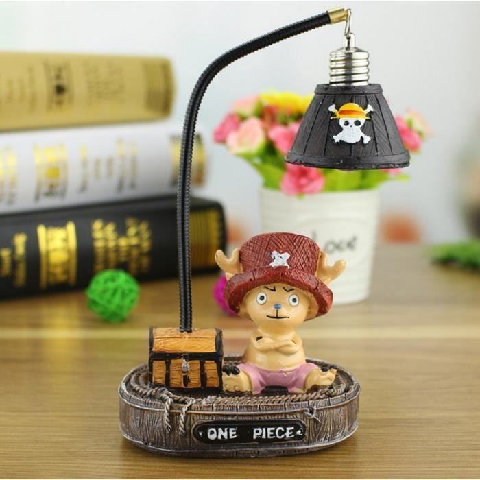 One Piece Anime Cartoon Resine Lumiere De Nuit Figure Lamp