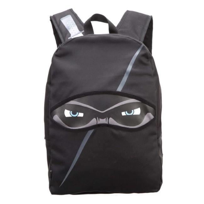 Sac à dos original Ninja de ZIPIT (42х30х15cm), Noir