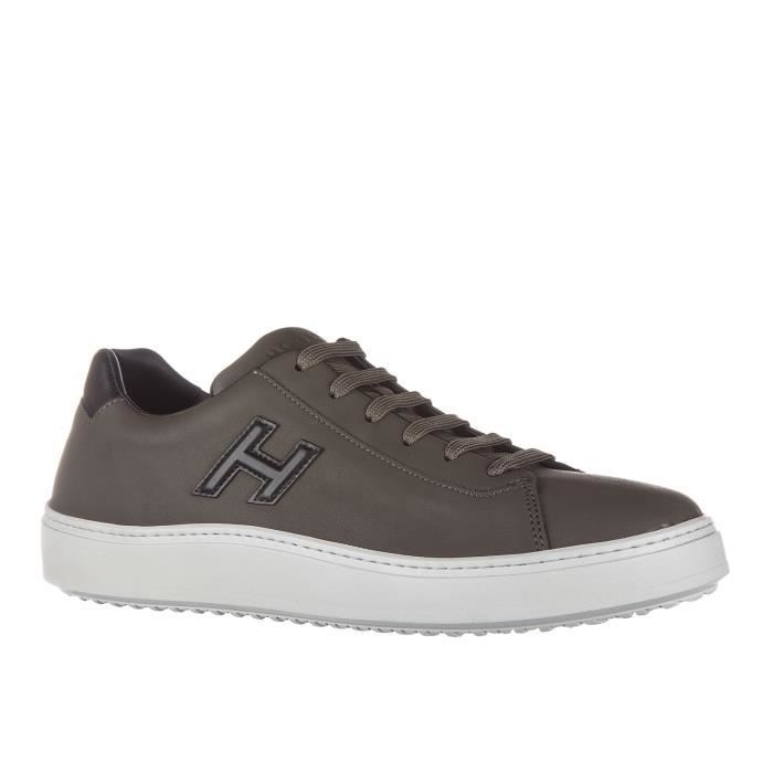 Chaussures baskets sneakers homme en cuir h302 urban cupsole sporty style Hogan