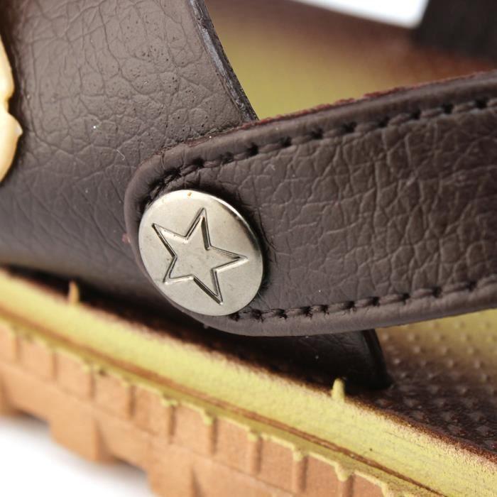 AEQUEEN Tongs Hommes Anti-dérapant Chaussures De Plage Confortable