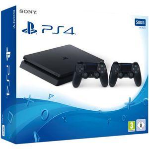 CONSOLE PS4 Pack Nouvelle PS4 500 Go + 2ème Manette DualShock
