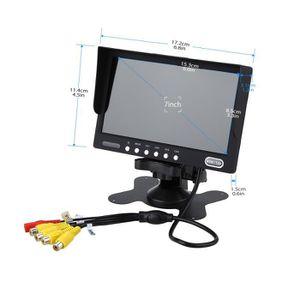 ÉCRAN VIDÉOSURVEILLANCE Eyoyo7 pouces haute résolution (480) TFT LCD écran