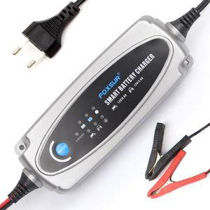 CHARGEUR DE BATTERIE 12V Moto Voiture Chargeur de batterie, Plomb-acide