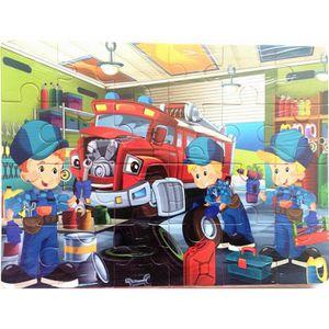 PUZZLE Blocs de puzzle en bois animal puzzle enfant appre