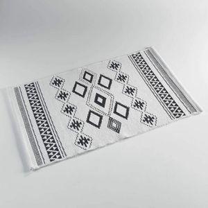 TAPIS Tapis en coton jacquard - L 50 x l 80 cm - Inca No f58268790e56