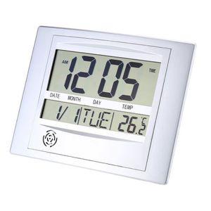 HORLOGE - PENDULE TS-H129Y Horloge digitale LCD murale ou à poser  2