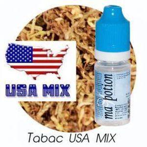 LIQUIDE E-Liquide TABAC USA-MIX, Eliquide Français, rechar