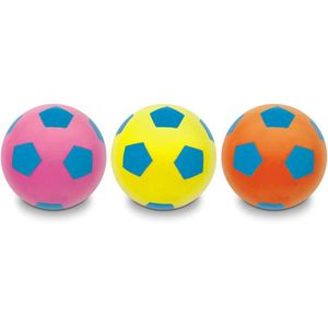 BALLE - BOULE - BALLON MONDO - Ballon Soft Football Fluo 20cm - Enfant -