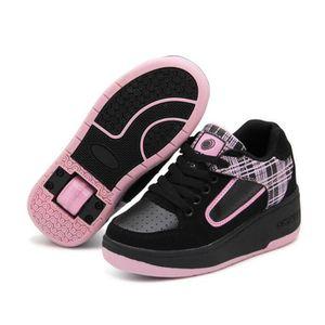 SKATESHOES Nouvel Enfant Heelys Chaussures à Roulettes avec u