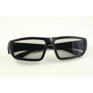LUNETTES 3D Ultra Black Adults Passive 3D Glasses available in