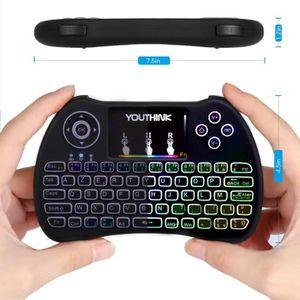 PACK CLAVIER - SOURIS  2,4 GHz Mini clavier sans fil mini clavier rétro-