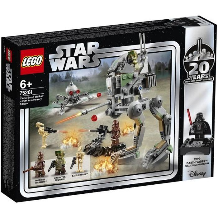 ASSEMBLAGE CONSTRUCTION LEGO Star Wars™ 75261 Clone Scout Walker™ – Éditio