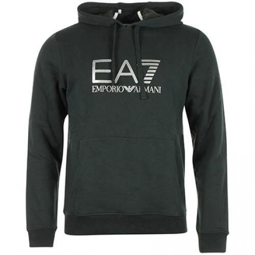 Sweat à capuche EA7 274377 Noir Noir NOIR - Achat   Vente sweatshirt ... 697d9e190ca1