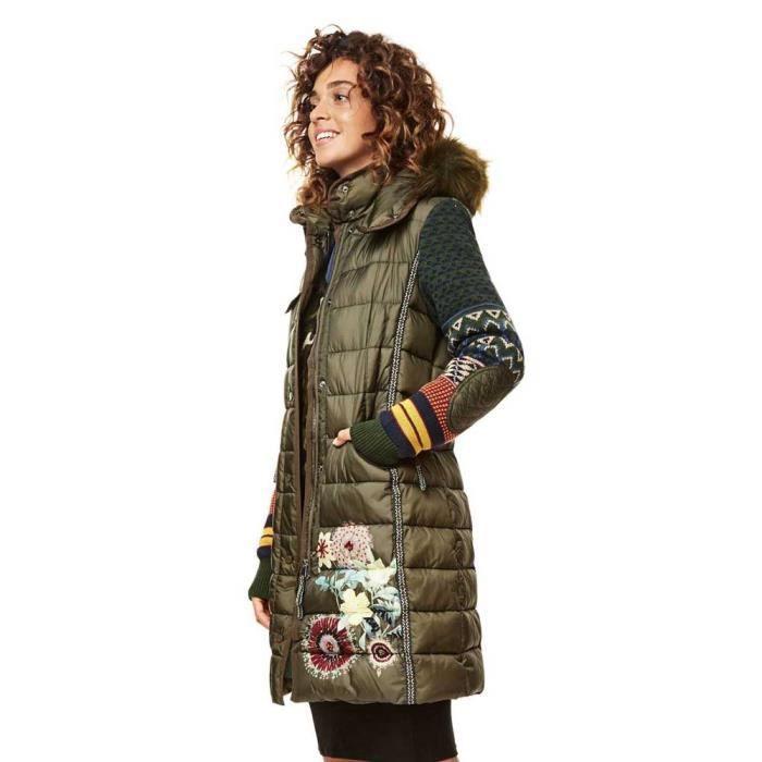 manteau desigual achat vente manteau desigual pas cher. Black Bedroom Furniture Sets. Home Design Ideas