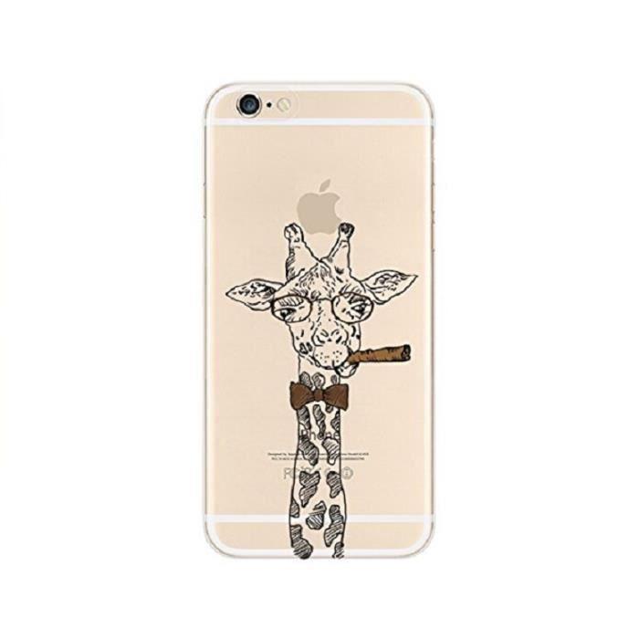 coque iphone 8 plus giraffe
