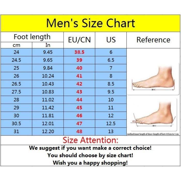 Mode Hommes & # 39; Chaussures de sport de course Chaussures Homme Casual British Respirant Flats Chaussures,gris,43