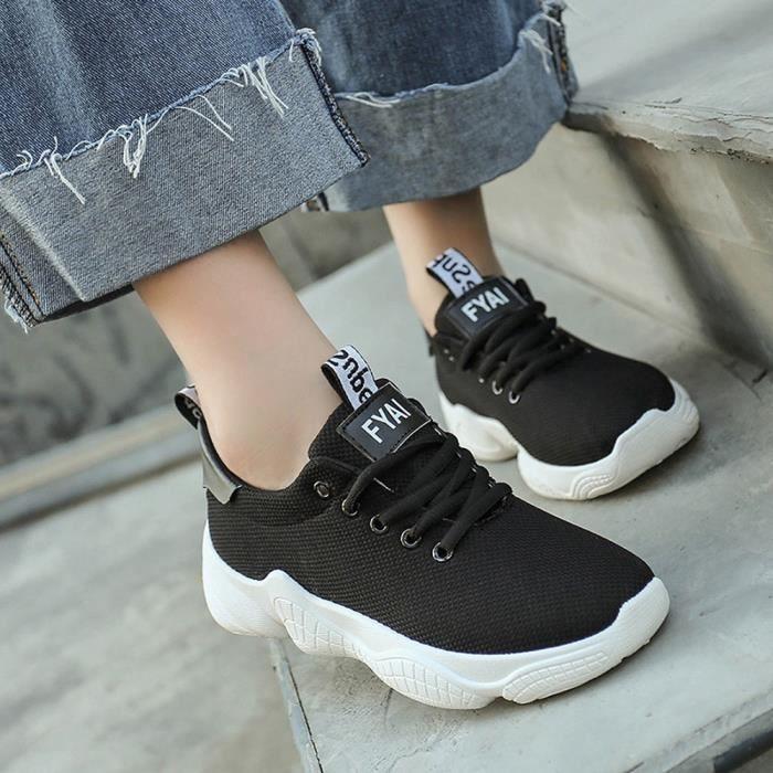 Femmes Emplois Hauts Bout kaki Cheville Chaussures Flock Talons Pointu Simples Parti Jeffrey®mode Sandale OS84nxx