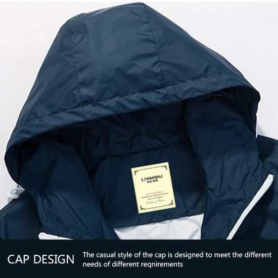 vent Homme Manteau Veste Capuche Hommes Mode Mince Couple Casual A Outwear Coupe Printemps Automne Vestes 5c4RH4v